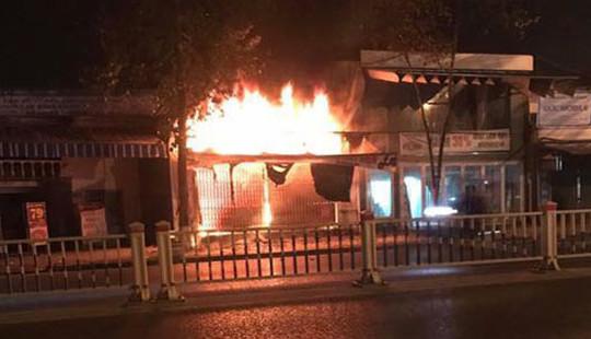 Cháy cửa hàng tạp hóa, thiệt hại khoảng 1 tỷ đồng