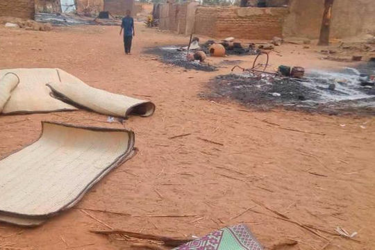 Khủng bố IS thừa nhận thực hiện vụ tấn công ở Mali làm 54 người thiệt mạng