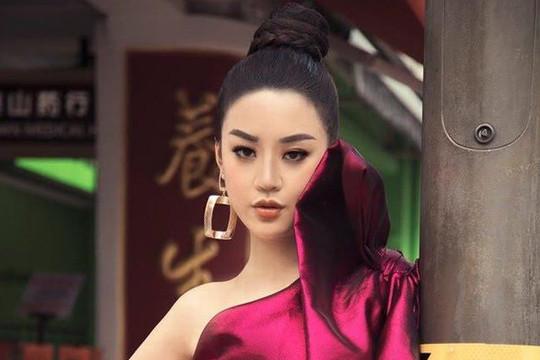 Người đẹp được yêu thích nhất Miss World Vietnam khoe bộ ảnh cực chất ở Singapore
