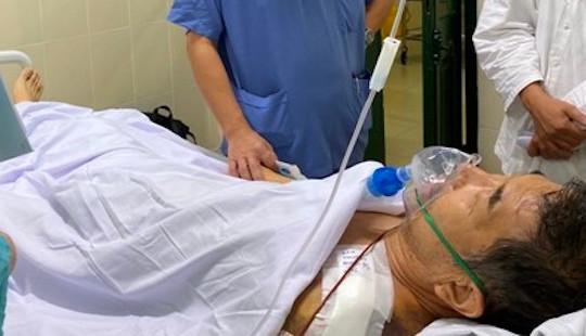 Cứu sống bệnh nhân người Nhật bị nhồi máu cơ tim sau ca mổ kết xương