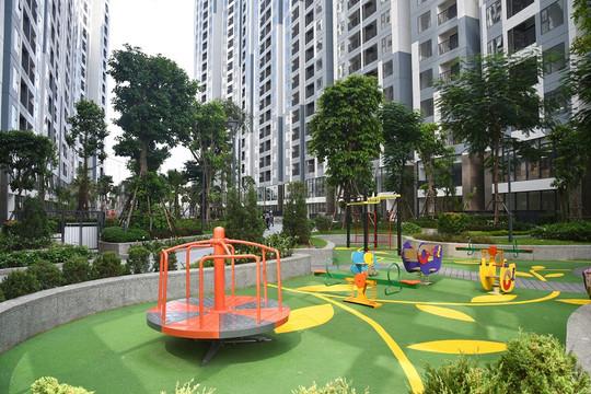 Cư dân Imperia Sky Garden háo hức nhận nhà mới