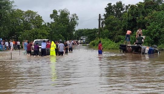 Đắk Lắk mưa lớn trên diện rộng, nhiều nơi ngập lụt