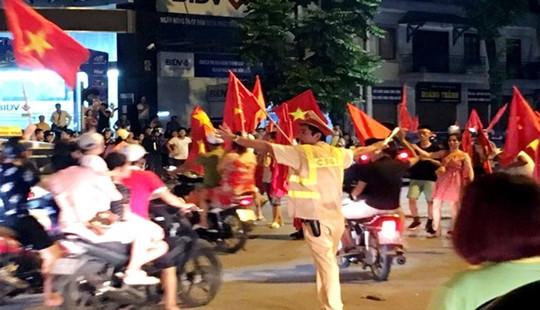 Phân luồng giao thông phục vụ 2 trận đấu của ĐT Việt Nam tại SVĐ Mỹ Đình