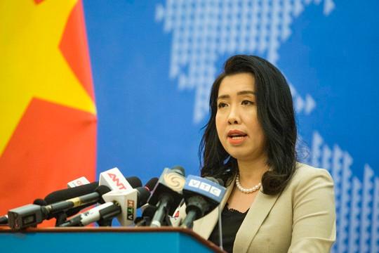 Việt Nam bác thông tin của Trung Quốc về chủ quyền đối với Trường Sa