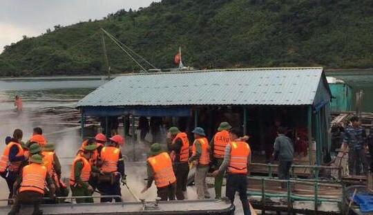 Quảng Ninh thông tin vụ ném bom xăng vào đoàn cưỡng chế