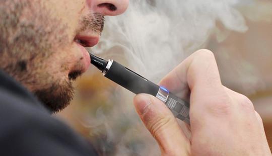 WHO không khuyến cáo sử dụng thuốc lá điện tử làm phương tiện cai thuốc