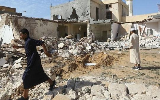 Tin vắn thế giới ngày 19/11: Không kích gây nhiều thương vong ở Libya