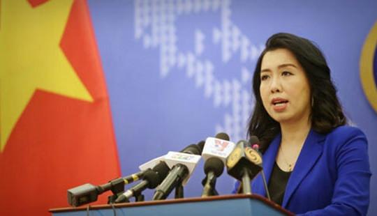 Bộ Ngoại giao lên tiếng về thông tin tàu HD9 Trung Quốc đi vào EEZ của Việt Nam