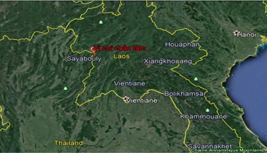 Hà Nội rung lắc nhẹ do dư chấn động đất từ Lào