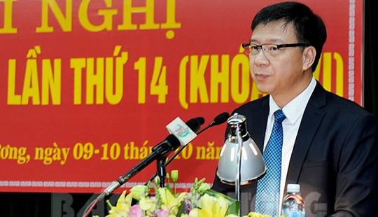 Ban Bí thư chuẩn y ông Phạm Xuân Thăng làm Phó Bí thư Tỉnh ủy Hải Dương