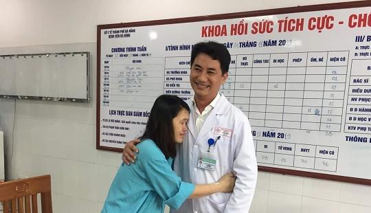 Sản phụ nguy kịch trong sự cố y khoa ở Đà Nẵng xuất viện