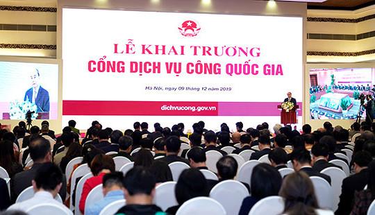 Khai trương Cổng DVCQG: Dấu mốc quan trọng trong xây dựng Chính phủ điện tử