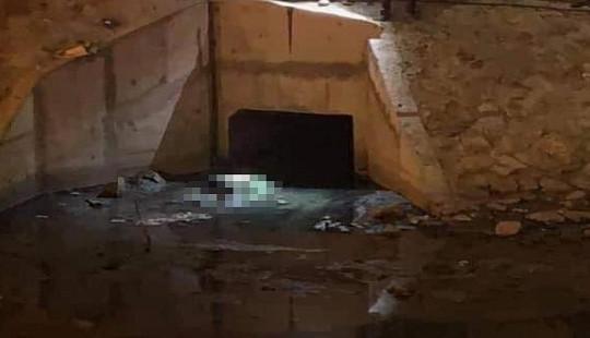 Công an thông tin vụ nam thanh niên chết dưới cống nước