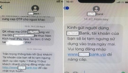 Cảnh báo thủ đoạn mới để chiếm đoạt tài sản ngân hàng của tội phạm