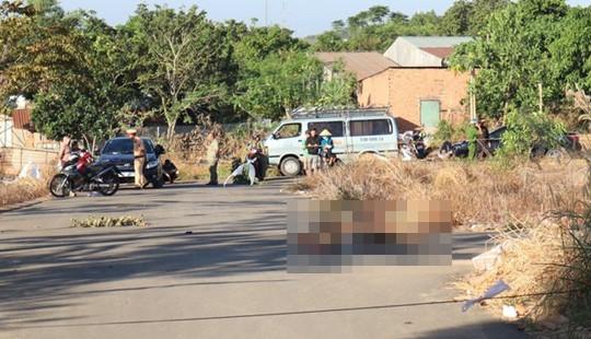 Điều tra nguyên nhân người đàn ông chết cháy giữa đường