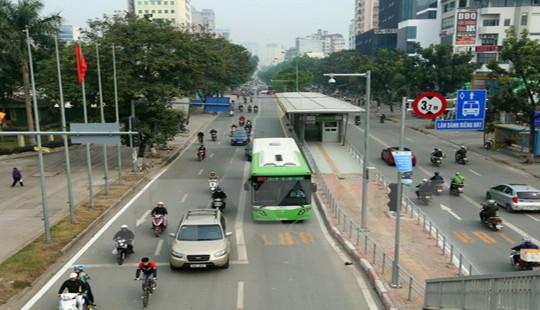 Hà Nội: Tăng cường 1.170 lượt xe buýt dịp Tết Nguyên đán