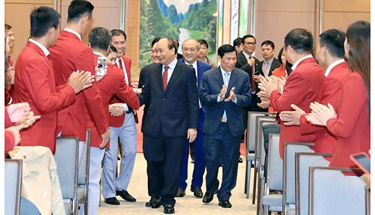 Thành tích của thể thao Việt Nam là cú hích đối với phát triển kinh tế-xã hội