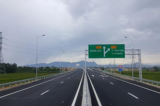 Chuẩn bị thu phí toàn tuyến cao tốc Đà Nẵng – Quảng Ngãi