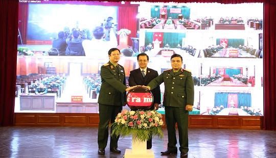Ra mắt Hệ thống truyền hình hội nghị đến Tòa án quân sự các cấp