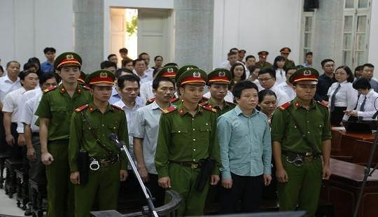 Hà Văn Thắm tiếp tục hầu tòa vào ngày 14/1