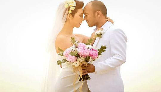 Siêu mẫu Xuân Lan lên xe hoa lần hai với chồng Việt kiều Mỹ