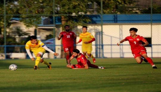 U23 Việt Nam thất bại 1-2 trước U23 Bahrain trong trận đấu tập