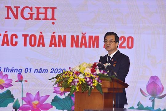 Ban Cán sự Đảng TANDTC ban hành Nghị quyết thực hiện nhiệm vụ Tòa án năm 2020