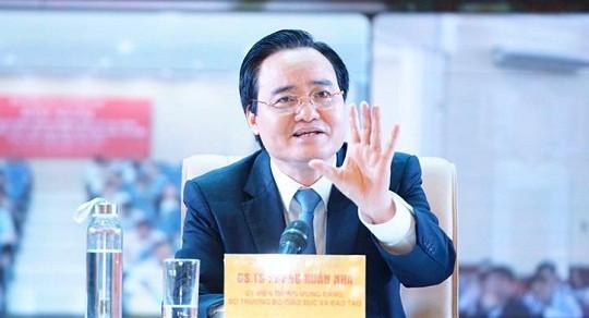 Bộ trưởng Bộ GD-ĐT: Cần có chế tài xử phạt nghiêm các trường làm không tốt