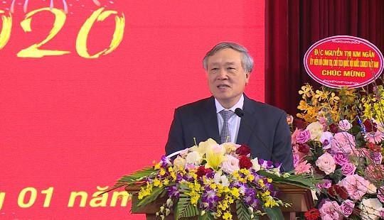 Chánh án Nguyễn Hòa Bình gặp mặt chúc Tết cán bộ TANDTC khu vực Hà Nội và TAQSTW