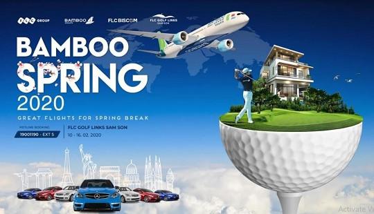 """""""Bamboo - Chuyến bay mùa xuân"""": Giải đấu hấp dẫn cho cộng đồng golfer dịp đầu năm mới"""