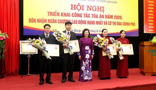 TAND hai cấp tỉnh Tuyên Quang đạt nhiều thành tích xuất sắc trong năm 2019