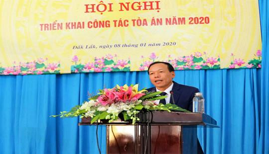 TAND hai cấp tỉnh Đắk Lắk hoàn thành xuất sắc nhiệm vụ năm 2019