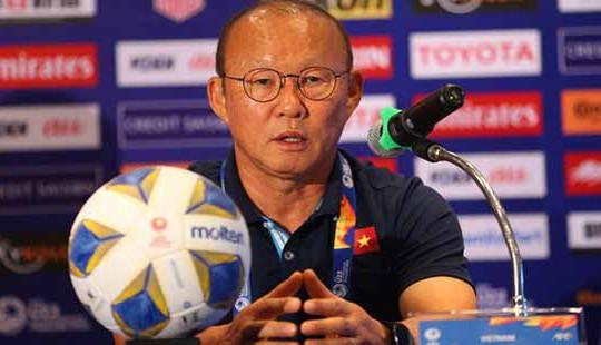 HLV Park Hang Seo đặt mục tiêu đưa U23 Việt Nam vào tứ kết VCK U23 châu Á 2020