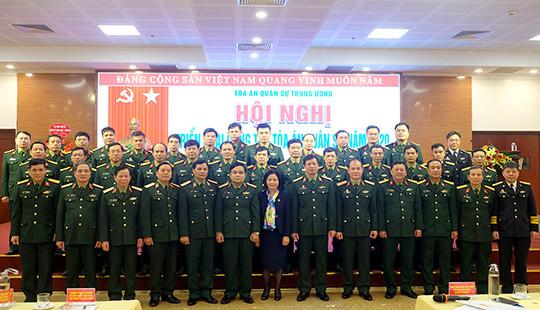 Tòa án Quân sự Trung ương triển khai công tác năm 2020