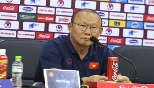 Dù phải chia điểm nhưng HLV Park Hang Seo hài lòng với những gì ở trận đầu tiên tại VCK U23 châu Á 2020
