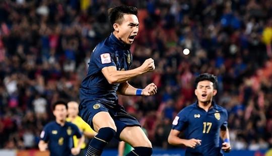 Thái Lan lần đầu tiên vào tứ kết U23 châu Á