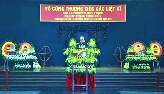 Lễ tang 3 liệt sĩ CAND hy sinh tại Đồng Tâm