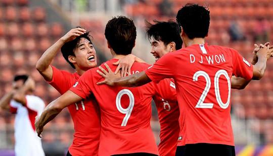 U23 Hàn Quốc thẳng tiến vào bán kết bằng trận thắng kịch tính