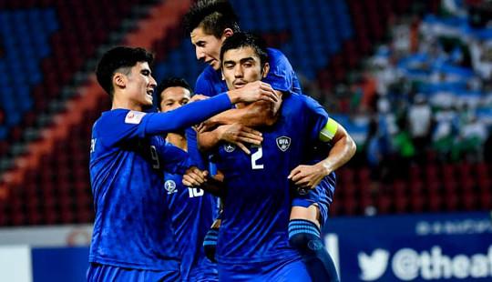 U23 Uzbekistan khẳng định đẳng cấp bằng cơn mưa bàn thắng trên sân Rajamangala