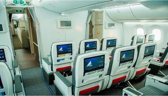Trải nghiệm vượt mong đợi với hạng ghế Phổ thông đặc biệt trên máy bay thân rộng của Bamboo Airways