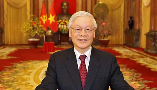 Tổng Bí thư, Chủ tịch nước Nguyễn Phú Trọng chúc Tết đồng bào, chiến sỹ cả nước