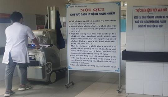 Cách ly du khách Trung Quốc bị sốt cao khi đến Đà Nẵng
