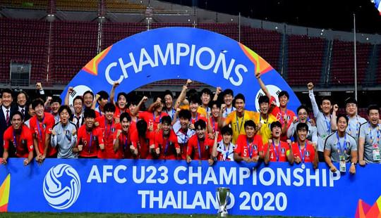 U23 Hàn Quốc lên ngôi vương VCK U23 châu Á