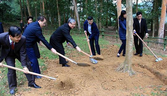 Ông Trần Quốc Vượng: Tết trồng cây đã trở thành phong trào thi đua sâu rộng trên toàn quốc