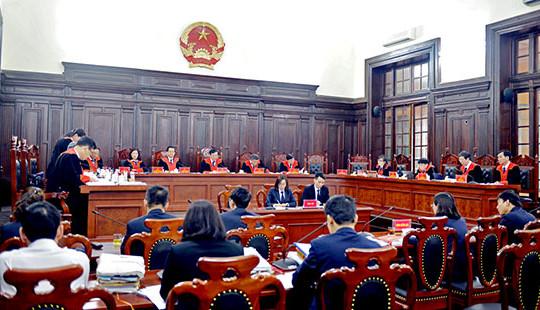 Tiêu chuẩn, tiêu chí đánh giá các chức danh khối cơ quan Tư pháp theo quy định mới