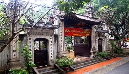 Đền – Đình Liễu Giai giá trị lịch sử giữa lòng thủ đô Hà Nội