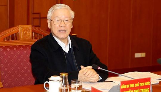 Tổng Bí thư, Chủ tịch nước: Hoàn thiện, bổ sung các dự thảo văn kiện cần cập nhật tình hình mới