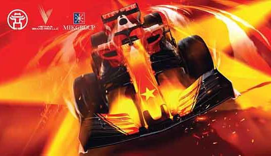MIKGroup đồng hành cùng Giải đua xe Công thức 1 Việt Nam