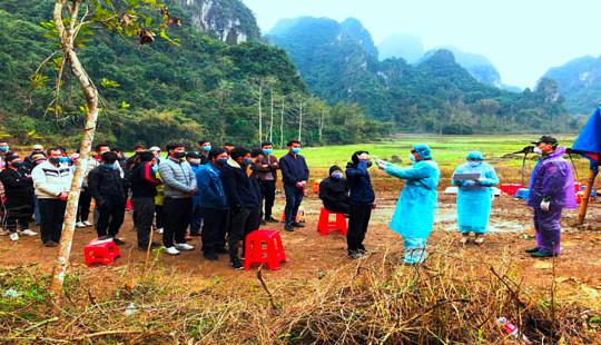 Cao Bằng: Phát hiện 85 công dân nhập cảnh trái phép
