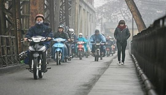 Không khí lạnh tăng cường sẽ chấm dứt nồm ẩm ở miền Bắc